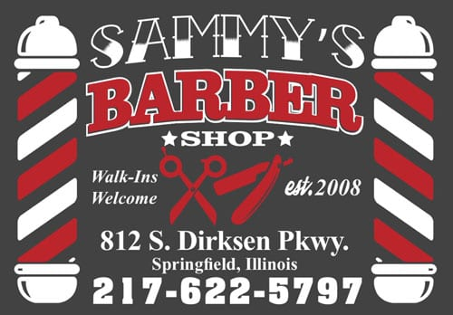sammy's barber shop springfield il